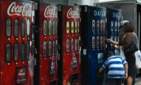 Soda Ban in Effect in San Francisco City Vending Machines