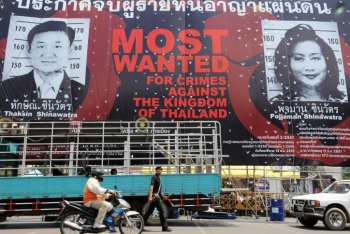 Thai Government Charges Thaksin With Terrorism