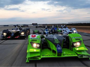 Scott Dixon's Acura Takes Sebring Pole