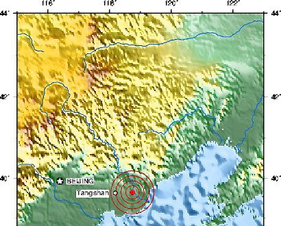 Tangshan china hit by 47 magnitude earthquake earthquakes tangshan china hit by 47 magnitude earthquake gumiabroncs Gallery
