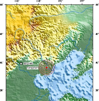 Tangshan china hit by 47 magnitude earthquake earthquakes the tangshan china hit by 47 magnitude earthquake gumiabroncs Image collections
