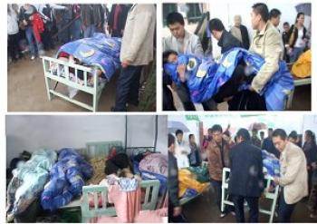 Over 100 house church members sustained injuries in the attack. (Provided by Fushan Church)