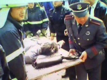 Zhonghua Wu's mother was beaten to death by local police during forced relocation for city development. (Photo submitted by Wu Zhonghua)