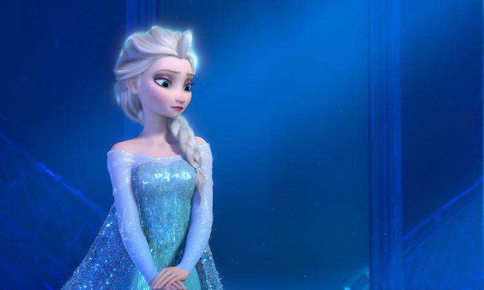 Elsa from Disney's movie Frozen. (2013 Disney/Image.net)