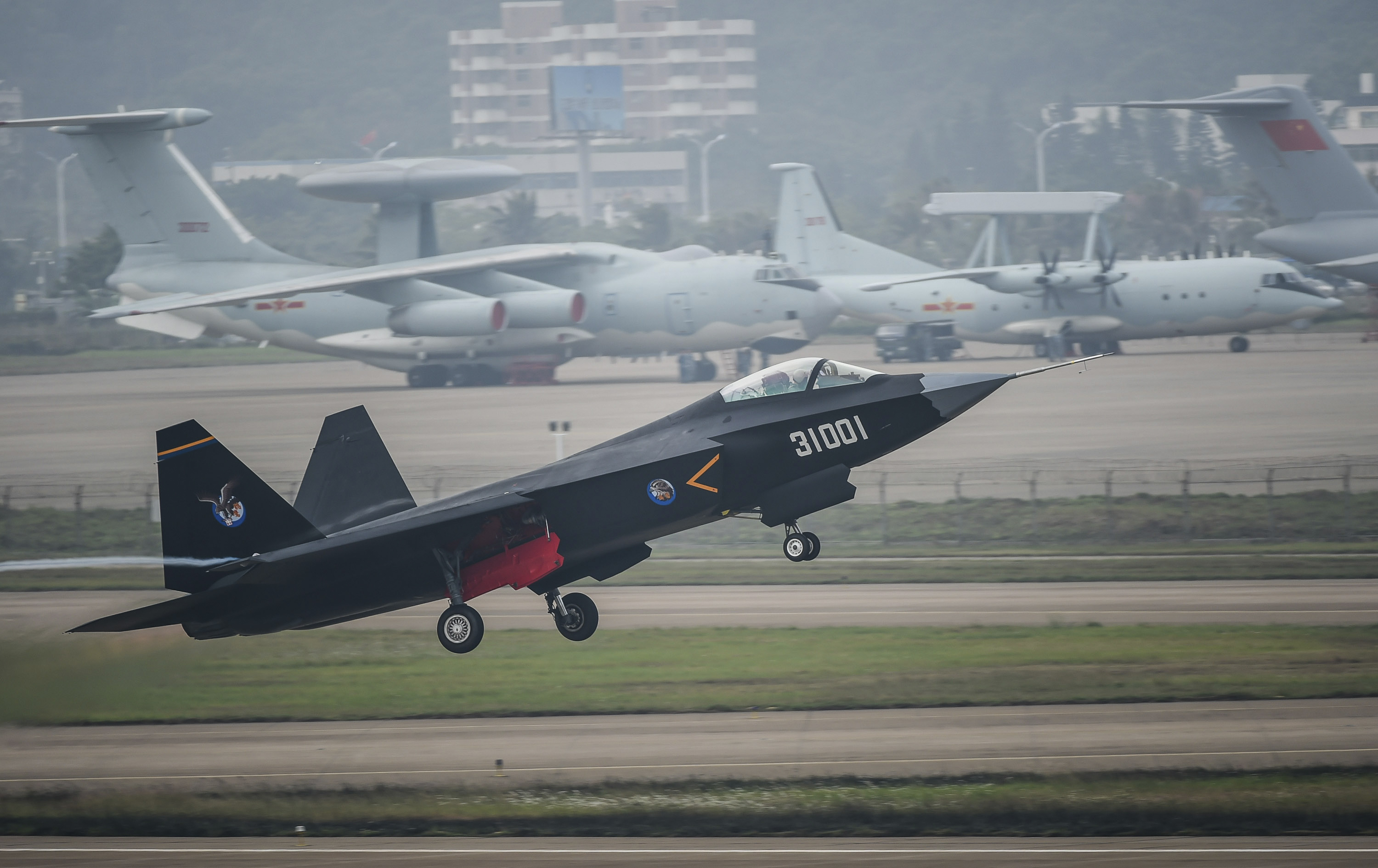 8 Chinese Military Planes Detected Flying Over Strait Near Japan