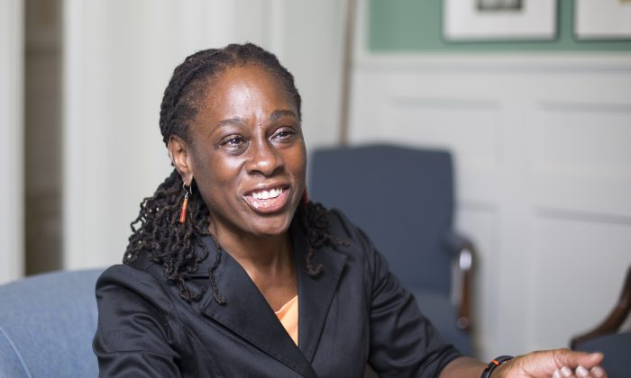 First Lady of New York City Chirlane McCray at City Hall in Manhattan on Aug. 11, 2015. (Samira Bouaou/Epoch Times)