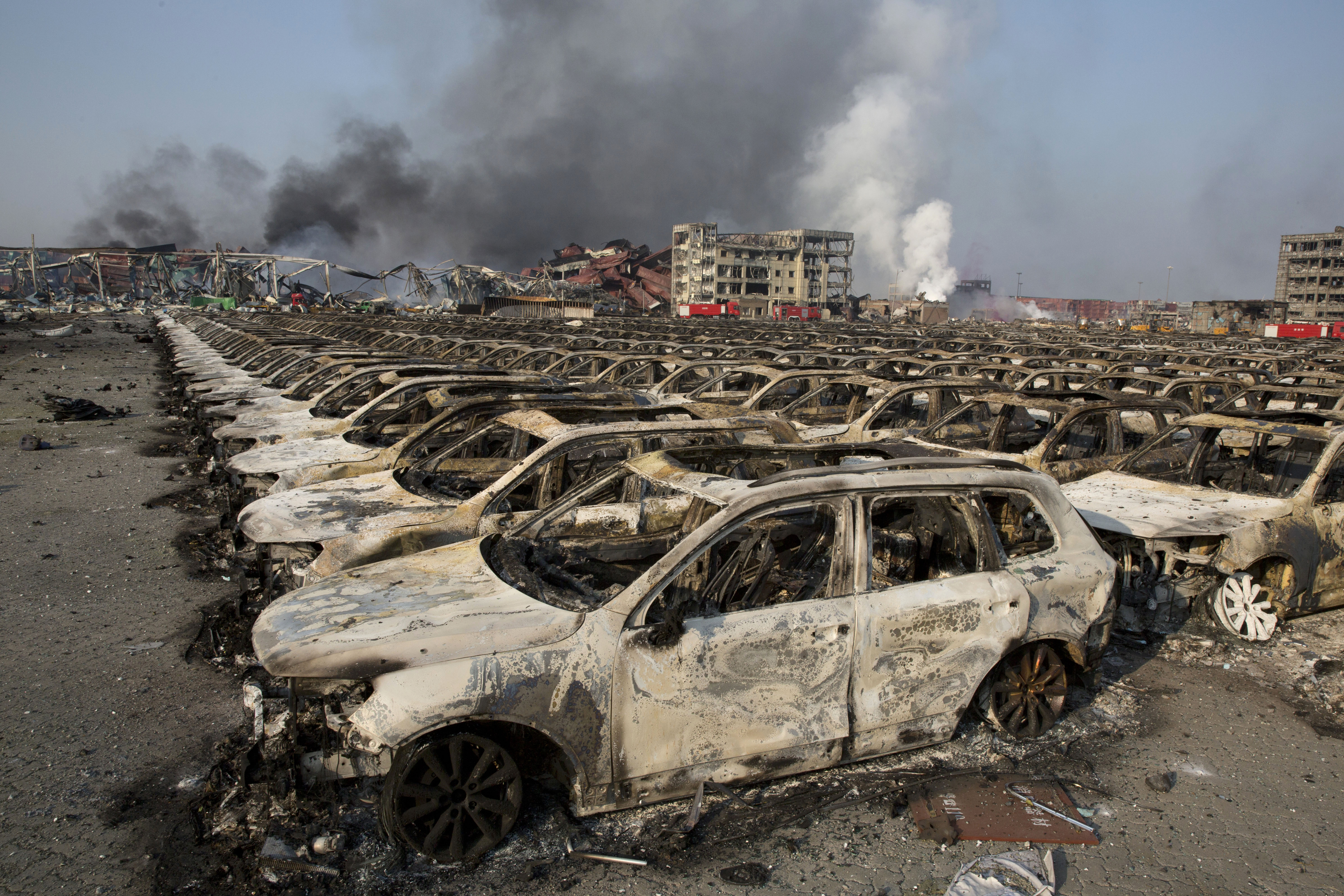 Tianjin Blast Reverberates Through Chinese Regime