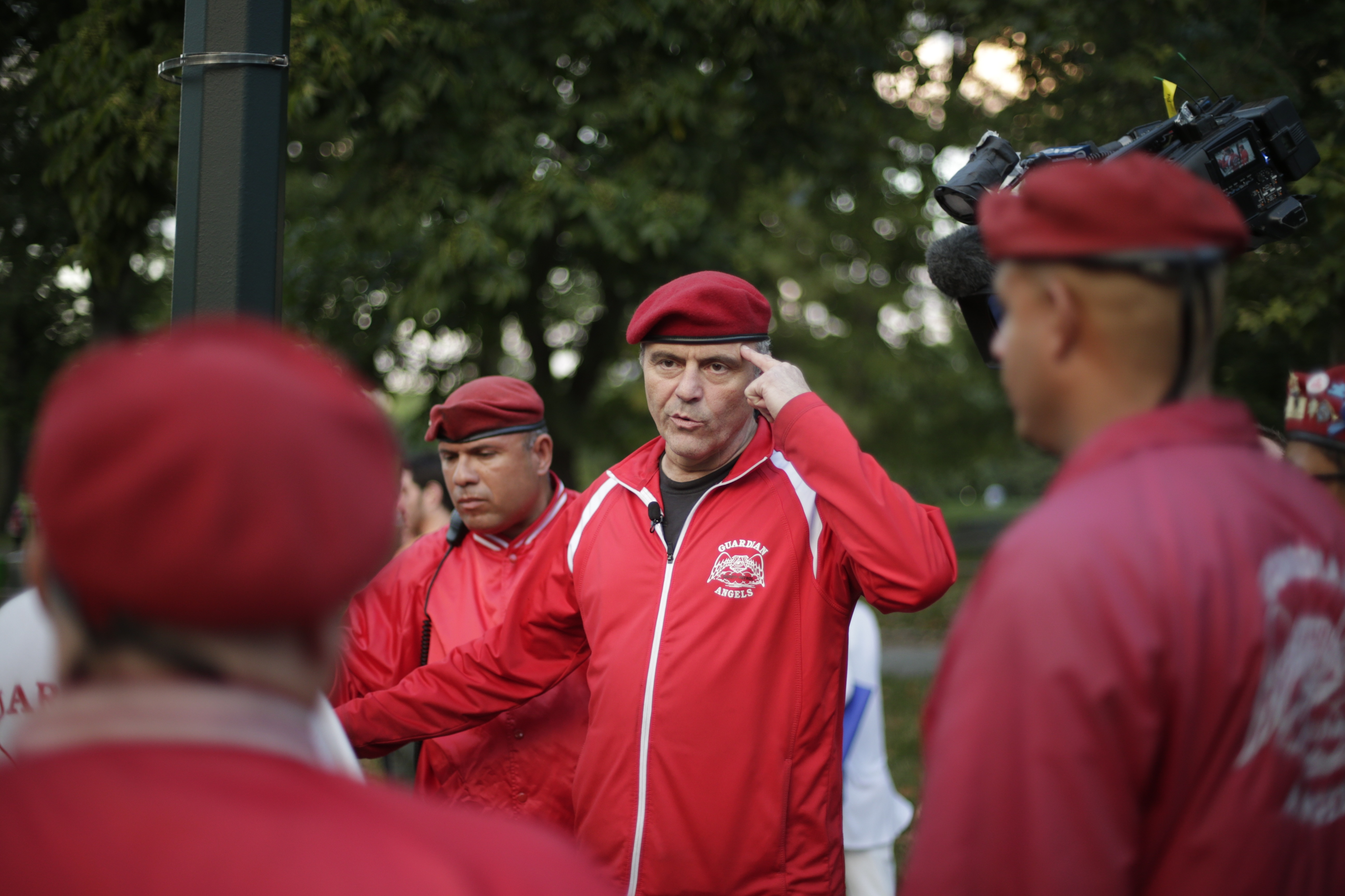 On the Beat With NYC's Guardian Angels
