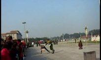 Tiananmen Protestors Increase; Police Turn Violent
