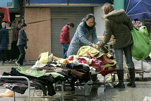 Clothes for sale (AFP/Getty Images)