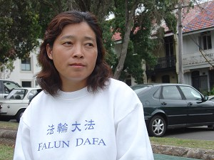 Ms Juan Xu had been a successful business woman in China with a family until fleeing to Australia. (The Epoch Times)