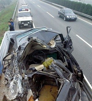 The Most in the World:  Tens of Thousands of Lives Lost Behind the Wheel Every Year in China