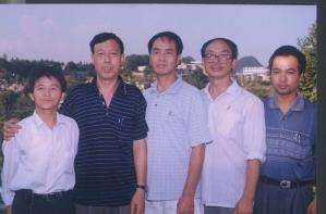 A second picture of Xu Wanping and some friends. (The Epoch Times)