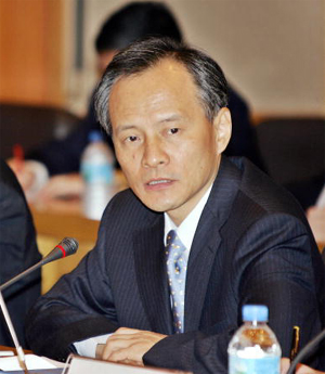 Cui Tiankai, Director General of the Asian Affairs Department of China's Foreign Ministry (Yoshikazu Tsuno/AFP/Getty Images)