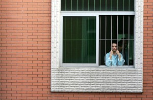 A psychiatric hospital in Zhongshan City, Guangdong Province. (China Photos/Getty Images