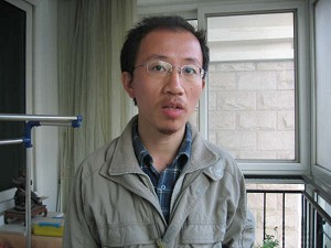 Hu Jia on March 28, the evening he was released from jail where he was held for taking part in a hunger strike protesting human rights abuses in China. (The Epoch Times)