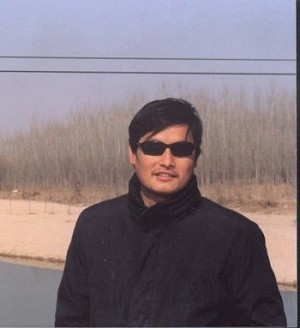 Mr. Chen Guangcheng, blind human rights activist from Shandong Province, China. (The Epoch Times)