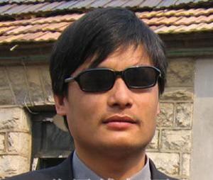 Mr. Chen Guangcheng before his arrest (www.gmwq.org)