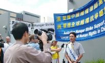Former Chinese Diplomat Returns To Consulate For Hunger Strike