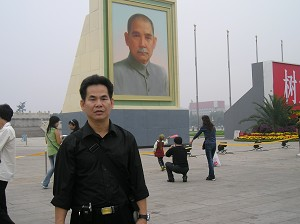 Attorney Yang Zaixin in Beijing. (The Epoch Times)