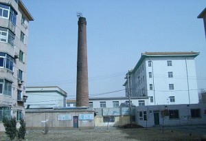 Human crematorium: The furnace unit on the southwest side in the Sujiatun Concentration Camp, where a witness says Falun Gong practitioners are cremated after their organs have been removed for sale. She learned from her ex-husband, a surgeon in the concentration camp, that the practitioners are still alive during organ removal. (The Epoch Times)