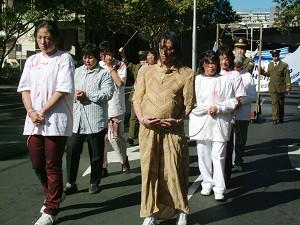 Enactment of Falun Gong practitioners under persecution in China (The Epoch Times).