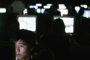 The Chinese Ministry of Public Security recently announced its decision to expand the virtual police system from Shenzhen, where it was first set up earlier this year, to all major cities in China, in order to reinforce the Internet monitoring and censorship. (Cancan Chu/Getty Images)