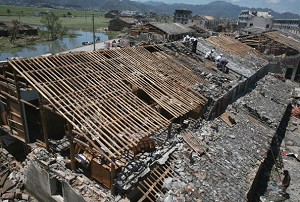 Typhoon Saomai destroyed thousands of houses and boats in Zhejiang and Fujian provinces. (China Photos/Getty Images)