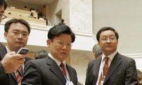 Chinese Diplomat Loses Temper