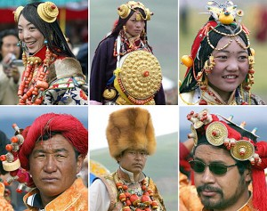 Characteristics of Tibetan Traditional Clothing