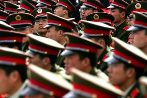 China Audits 1,700 Military Officers