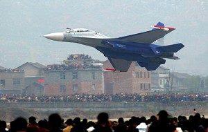 A Su-30 (LIU JIN/AFP/Getty Images)