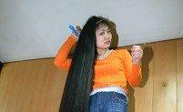 Beijing Woman Grows Her Hair Longer Than Her Height