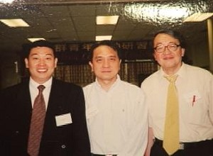 Yang Jianli (left), Chen Zhiqiang (center), Lin Baohua (right). (Provided by Lin Baohua)