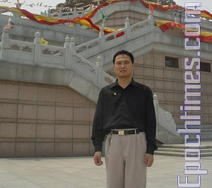 Qi Chonghuai is a veteran news reporter and correspondent of the Shangdong Branch of the national media China Legal News. (The Epoch Times)