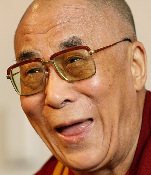 COMPASSIONATE: The 14th Dalai Lama, Tenzin Gyatso, arrives in New Zealand this week to give public talks in Auckland and Wellington. (Getty Images)