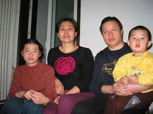 Attorney Gao Zhisheng with his family, prior to his arrest. (The Epoch Times)