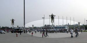 More arrests on Tiananmen Square. (The Epoch Times)