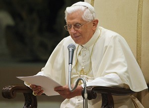"""On June 30, 2007 Pope Benedict XVI stated in a letter addressed to Catholics in China that the bishops ordained by Beijing authorities are """"illegitimate."""" He also warned that the China's official church """" does not correspond to Catholic doctrine."""" (Getty Images)"""