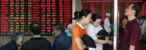 "Experts worry about China's ""Nationwide Speculation""  It is estimated that 10 percent of the population have invested in the stock market, which is evolving into a social problem. (The Epoch Times)"