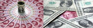 The RMB exchange rate is increasing at a constant pace. The experts have warned that excessive appreciation of RMB could lead to a financial crisis. (China Photos/Getty Images)