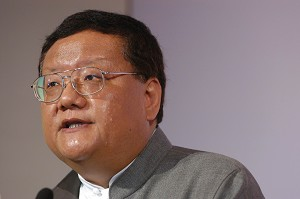 Liu Changle, Chairman & CEO of Phoenix Satellite Television Holdings Ltd. (The Epoch Times)
