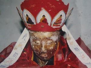 Closeup of Monk Liaozhen. (The Epoch Times)