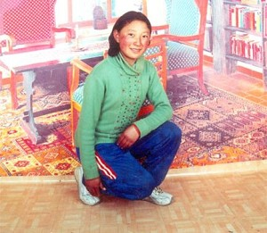 Lhundrup Tso, aged 16 died from a single bullet through the back of her skull on March 16, 2008. (TCHRD)