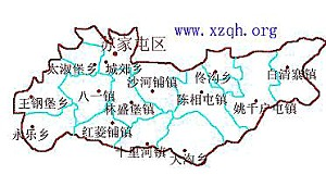 A devastating explosion occurred in Sujiatun District, located in the northwest corner of Shengyang City, Liaoning Province. (Map courtesy of www.xzqh.org)
