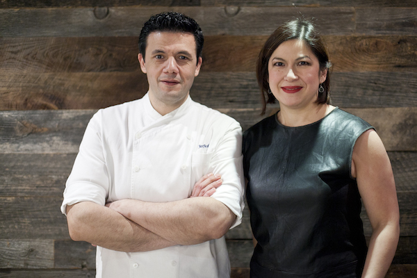 Chef Jon Feshan and owner Deborah Polo. (Samira Bouaou/Epoch Times)