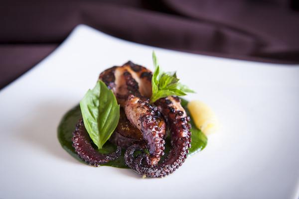 Confit Charred Octopus. (Samira Bouaou/Epoch Times)