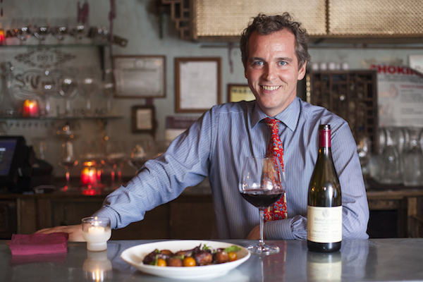 Owner and sommerlier Thomas Cregan. (Samira Bouaou/Epoch Times)