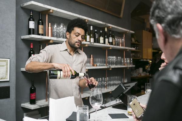 Wine director Jason Lange. (Samira Bouaou/Epoch Times)