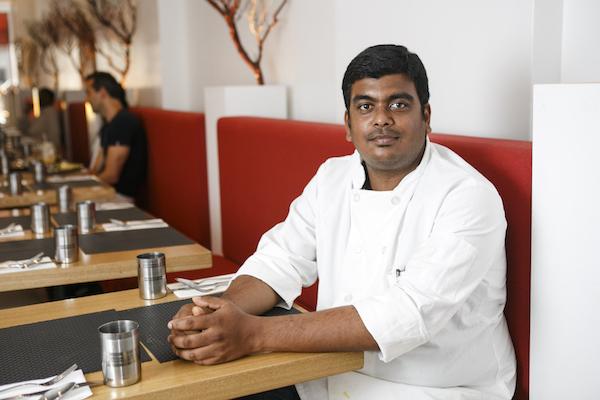 Chef Hemnath Nagarajan. (Samira Bouaou/Epoch Times)